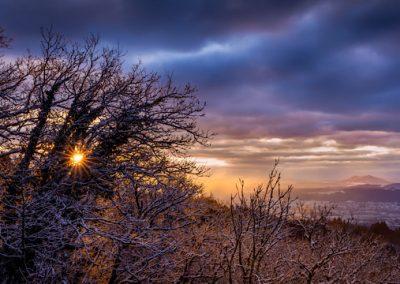 Winterzauber Sonne