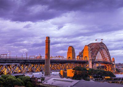 australien harbour bridge sidney