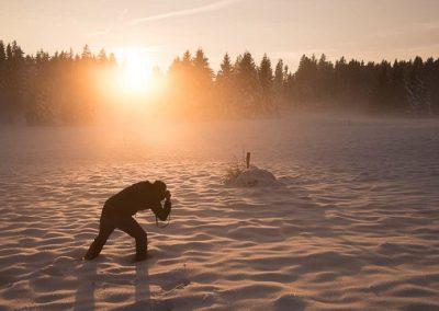 fotograf coaching winter sonne