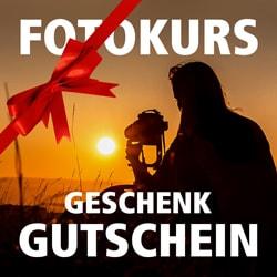Fotokurs Geschenkgutschein