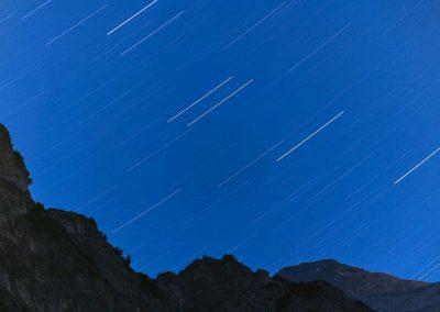 sternenspuren alpen berg
