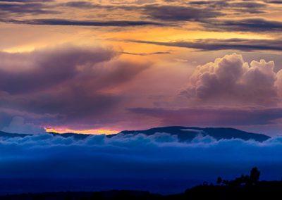 wolken drei farben