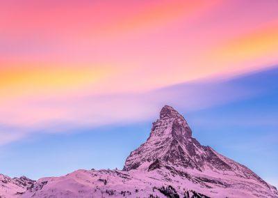 wolken langzeit matterhorn